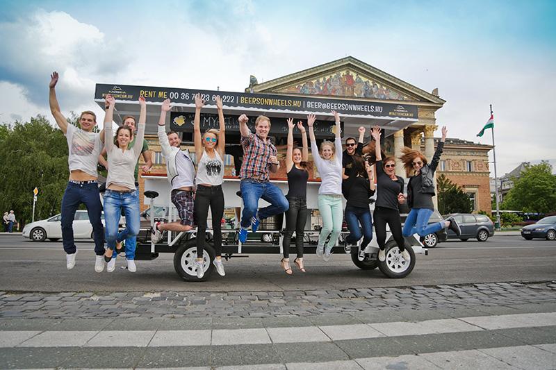 Beer Bike Budapest Beers On Wheels